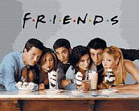 "Картина по номерах ""Friends"" GX38057"
