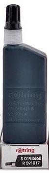 Чернила ROTRING для изографа 23мл Черные R591017