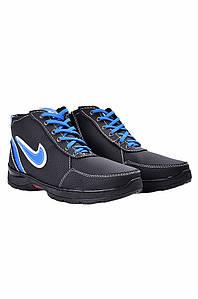 Ботинки мужские зимние черные ACG 127602P
