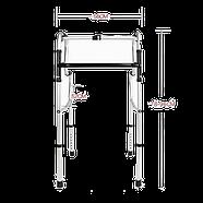 Ходунки двухуровневые Dayang DY04962L алюминиевые, складные, фото 2