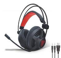Геймерские наушники для игр с микрофоном Fantech HG13 Игровые наушники Звук 360 Игровая гарнитура 7.1