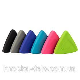 Ластик 1195-A из качественного синтетического каучука, ассорти цветов.Каждый ластик в полибеге со штрих-кодом.