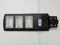 Уличный светодиодный светильник на солнечных батареях 60W