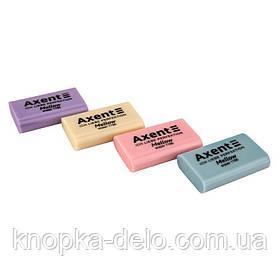 Ластик 1190-Aиз термопластичной резины. Штрих-код на ластике. Ассорти цветов. Упаковка: картонный дисплей.