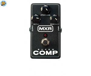 Педаль для электрогитары компрессор Dunlop M132 MXR Super Comp