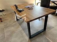 Кухонный стол Далас в стиле Лофт с массива Дуба, М901, фото 1