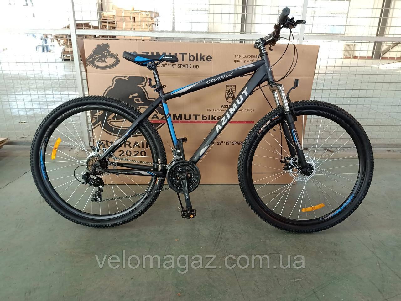 """Велосипед  горный Spark 29"""" GFRD рама 19"""", черно-синий"""