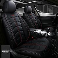 Модельные чехлы Design на передние и задние сиденья для автомобиля Chery