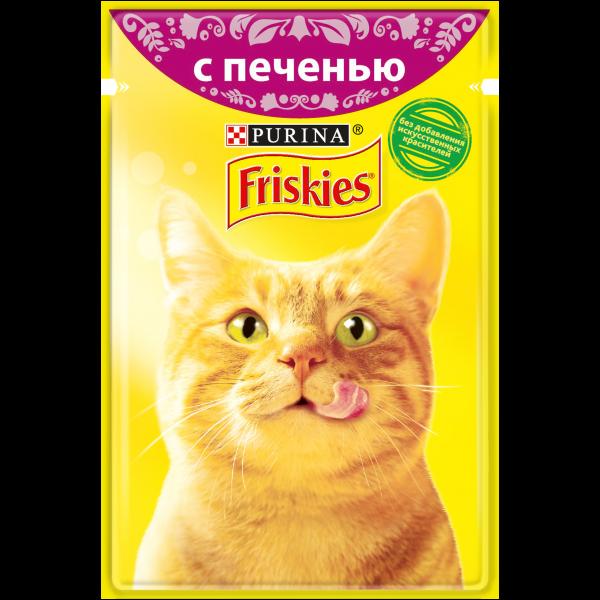 Влажный корм для кошек Purina Friskies в подливе