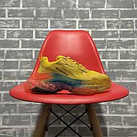Женские кроссовки в стиле Balenciaga Triple S Clear Sole Yellow Rainbow (Кроссовки Баленсиага Трипл С), фото 1