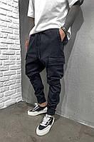 Мужские джинсы-карго Black Island 5923 Black, фото 1
