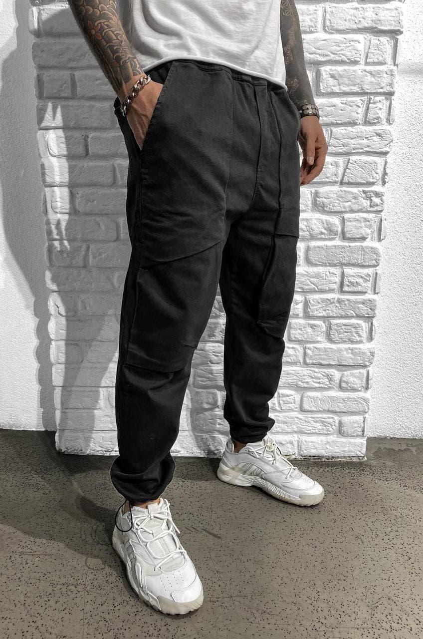 Чоловічі джоггери Black Island 5963 Black