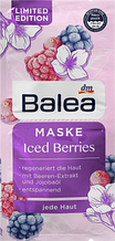 Маска для лица Balea  Iced Berries 16мл