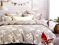 ТМ TAG Комплект постельного белья с компаньоном S266, Сатин, Комплект постільної білизни з компаньйоном S266