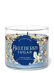 Bath & Body Works Blueberry Sugar ароматична свічка