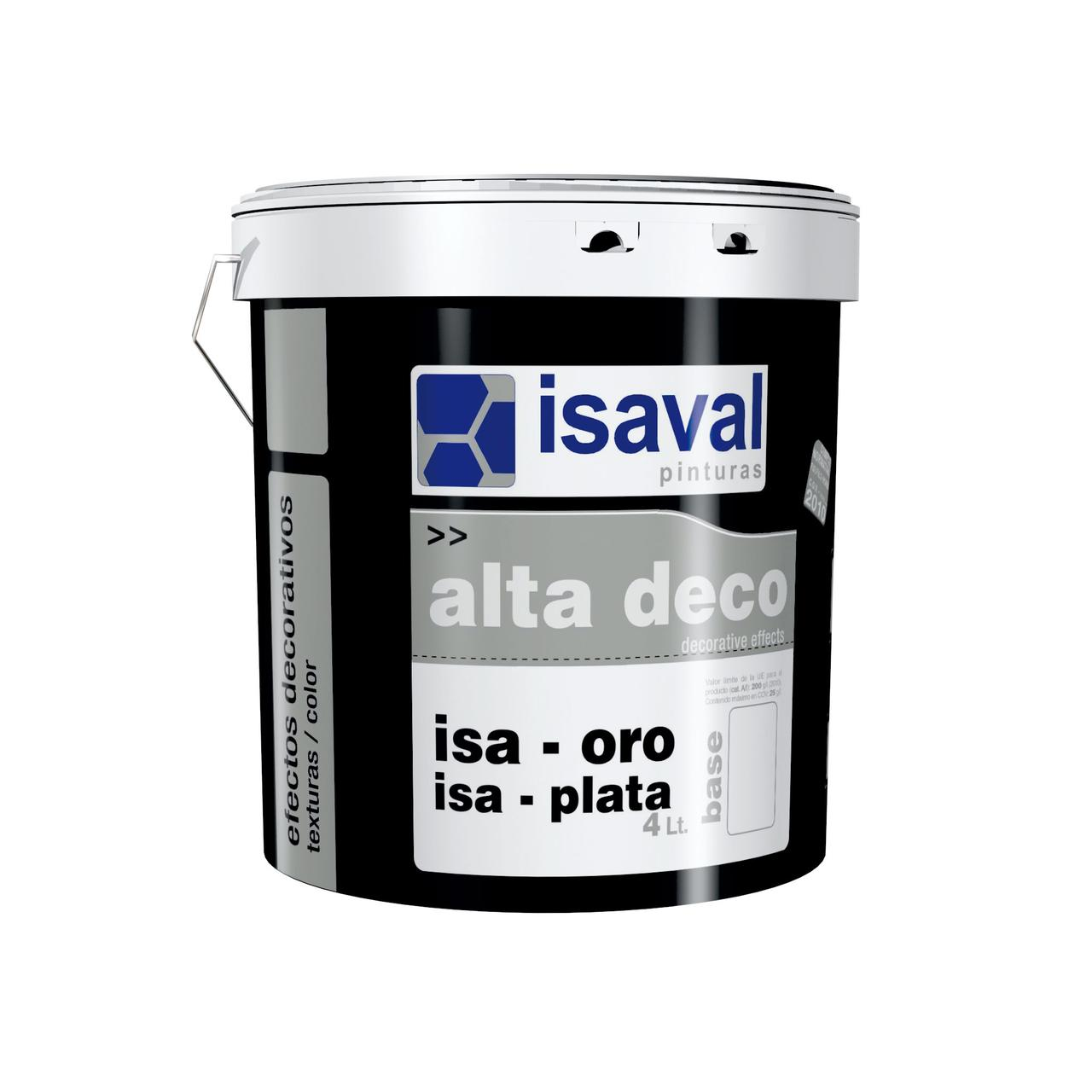 Декоративний акриловий напівпрозорий лак ІЗА-ОРО під золото 2,5 л