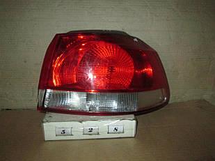 №528  Б/у ліхтар задній R для VW Golf VI  2008-2012