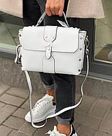 Женская кожаная сумка из натуральной кожи df265f8 клатч женский кожаный белый