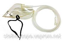 Маска кислородная с трубкой (для кислородных подушек, концентраторов)
