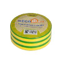 Изолента ПВХ 18м желто-зелёная ECOHOMe (АСКО), 9900