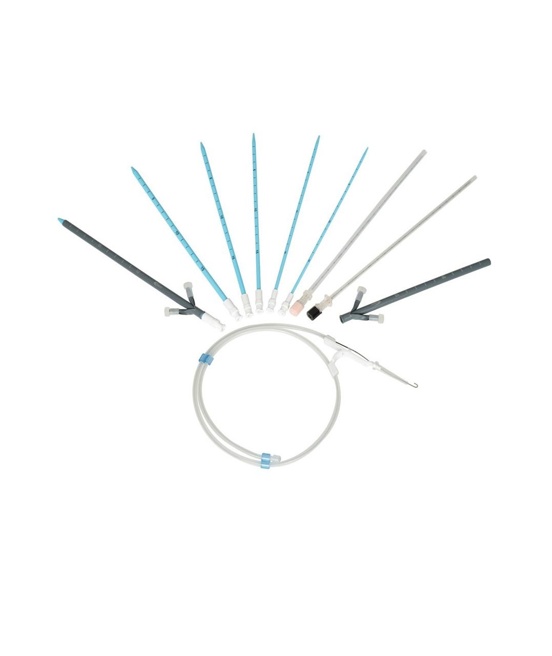 Набор для PCNL Innovex KP-18F F8-F18 игла, струна, дилататоры, интродюсер