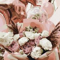 Картина по номерам Воздушные цветы