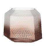"""Стеклянная ваза """"Пустыня"""" 20 см 8426-040, фото 2"""