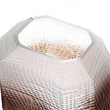 """Стеклянная ваза """"Пустыня"""" 20 см 8426-040, фото 3"""