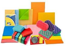 Губки, шкребки и салфетки для уборки