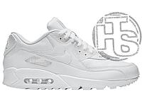 Женские кроссовки Найк 90 Белые ALL1114