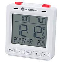 Часы настольные Bresser MyTime Easy II RC White (8010061GYE000)