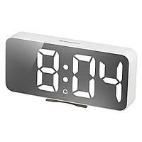 Часы настольные Bresser MyTime Echo FXL White (8010072GYEWHI)