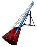 Шнековый транспортер 140 мм, длина 7,5 м, 22 т/ч, 380В