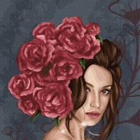 Картины по номерам Леди в розах