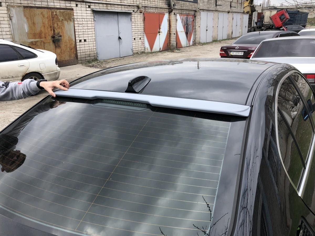 Козирьок на скло BMW E60 2004-2009 ABS пластик під фарбування
