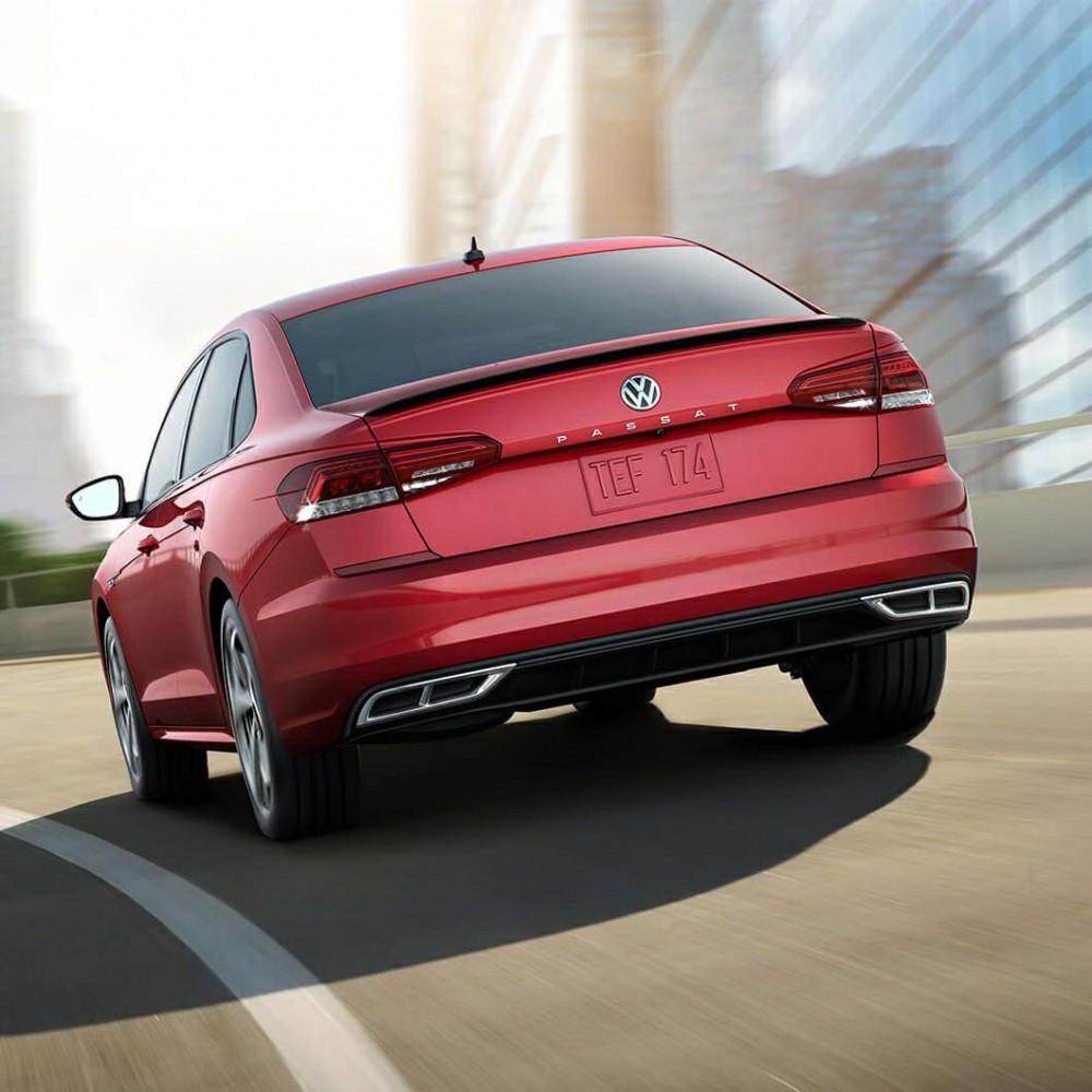 Спойлер лип Volkswagen Passat B9 USA 2019 -