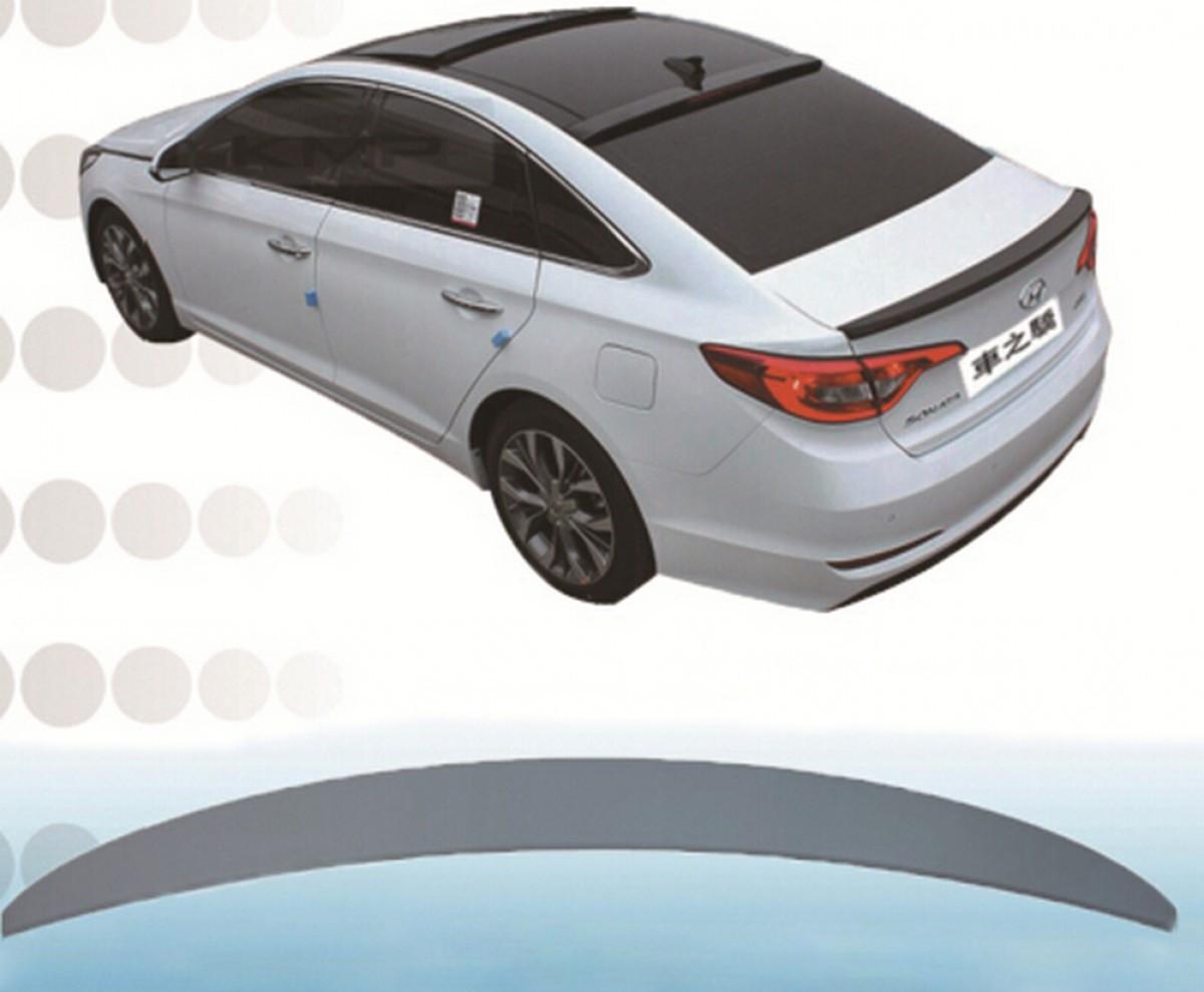 Спойлер лип багажника Hyundai Sonata LF 2015-2017 АБС пластик під фарбування