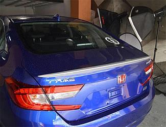 Спойлер лип Honda Accord 10 2017+ АБС пластик под покраску УЗКИЙ