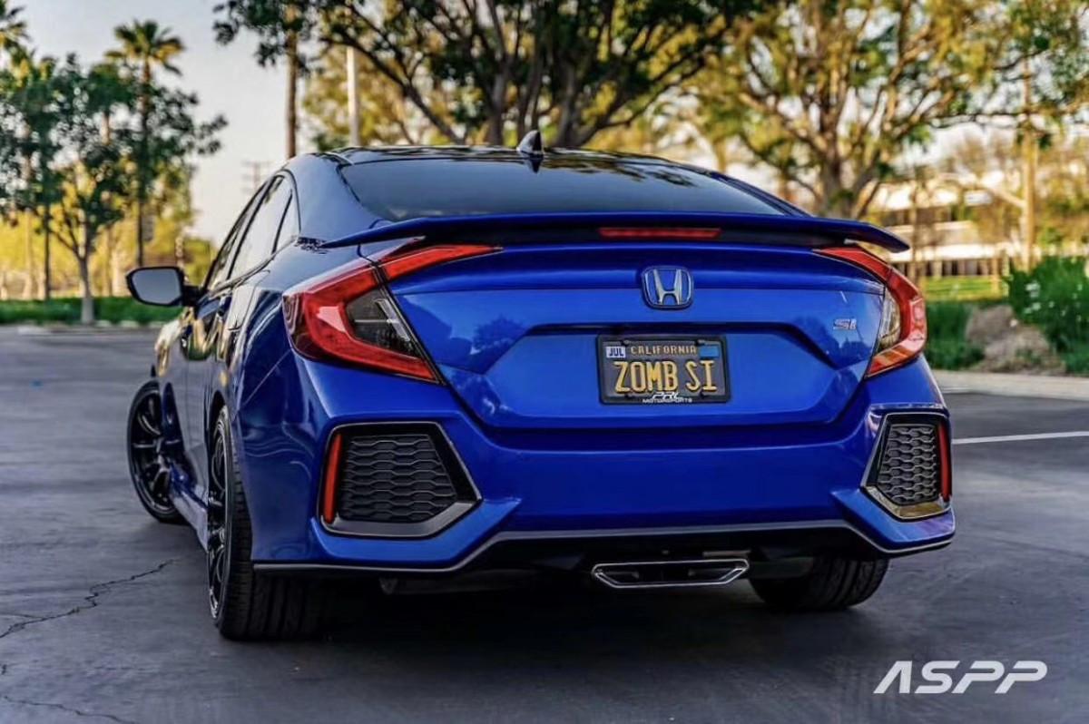 Спойлер на багажник SI Honda Civic 4D 2016-