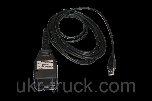 ДК-5 сканер для диагностики систем электронного управления дизельных двигателей Евро-3 камаз, маз, лиаз