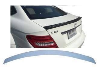 Спойлер лип на багажник Mercedes-Benz C-class W204 2007-2014 ABS пластик під фарбування