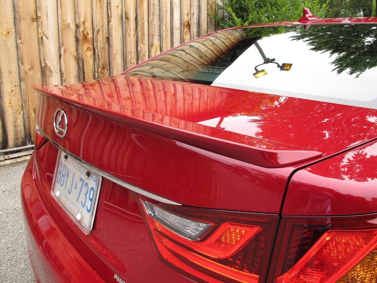 Спойлер лип Lexus GS 2012 - ABS пластик під фарбування