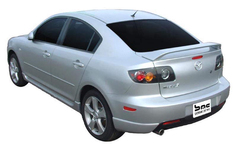Спойлер на багажник Mazda 3 седан 2003-2008 ABS пластик