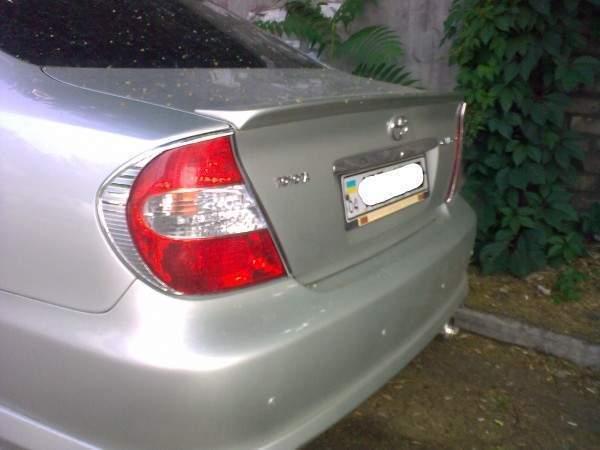 Спойлер лип багажника Toyota Camry 30 2003-2005 (скловолокно під фарбування)