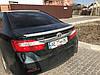 Спойлер лип багажника Toyota Camry 50/55 2011-2016 ABS пластик під фарбування, фото 4