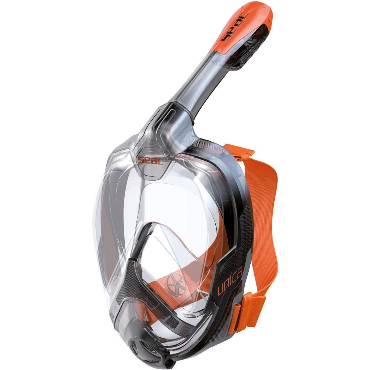 Полнолицевая маска Seac Unica (Прозрачый)