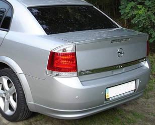 Спойлер лип багажника Opel Vectra C 2004-2012 ABS пластик