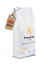 Кофе PureCafe Gold зерно 100% Арабики Италия 1кг