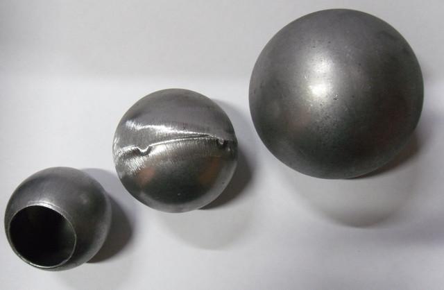 Шары пустотелые и полнотелые кованые стальные