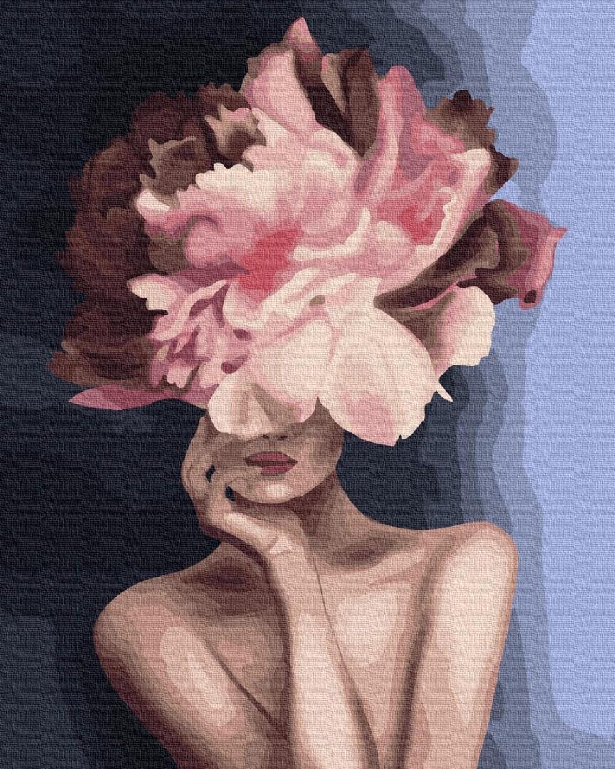 Картина по номерам - Изящный цветок Brushme 40*50 см. (GX34806)